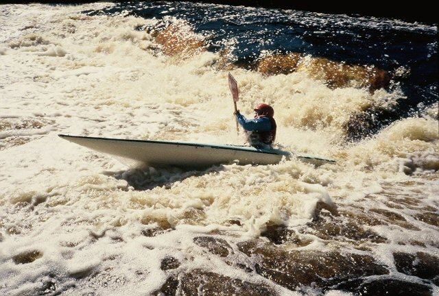Marge running 5 foot falls on Peshtigo