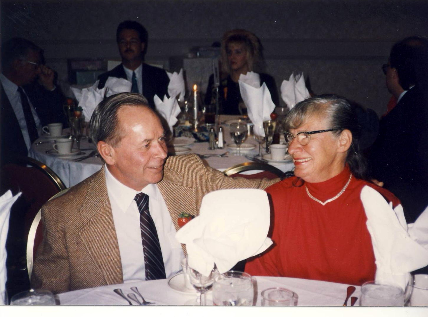 marge and bob at a wedding
